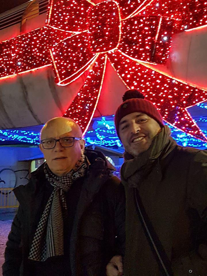 Read more about the article Il Direttore Del GFF Claudio Gubitosi in visita al Villaggio di Babbo Natale Salerno