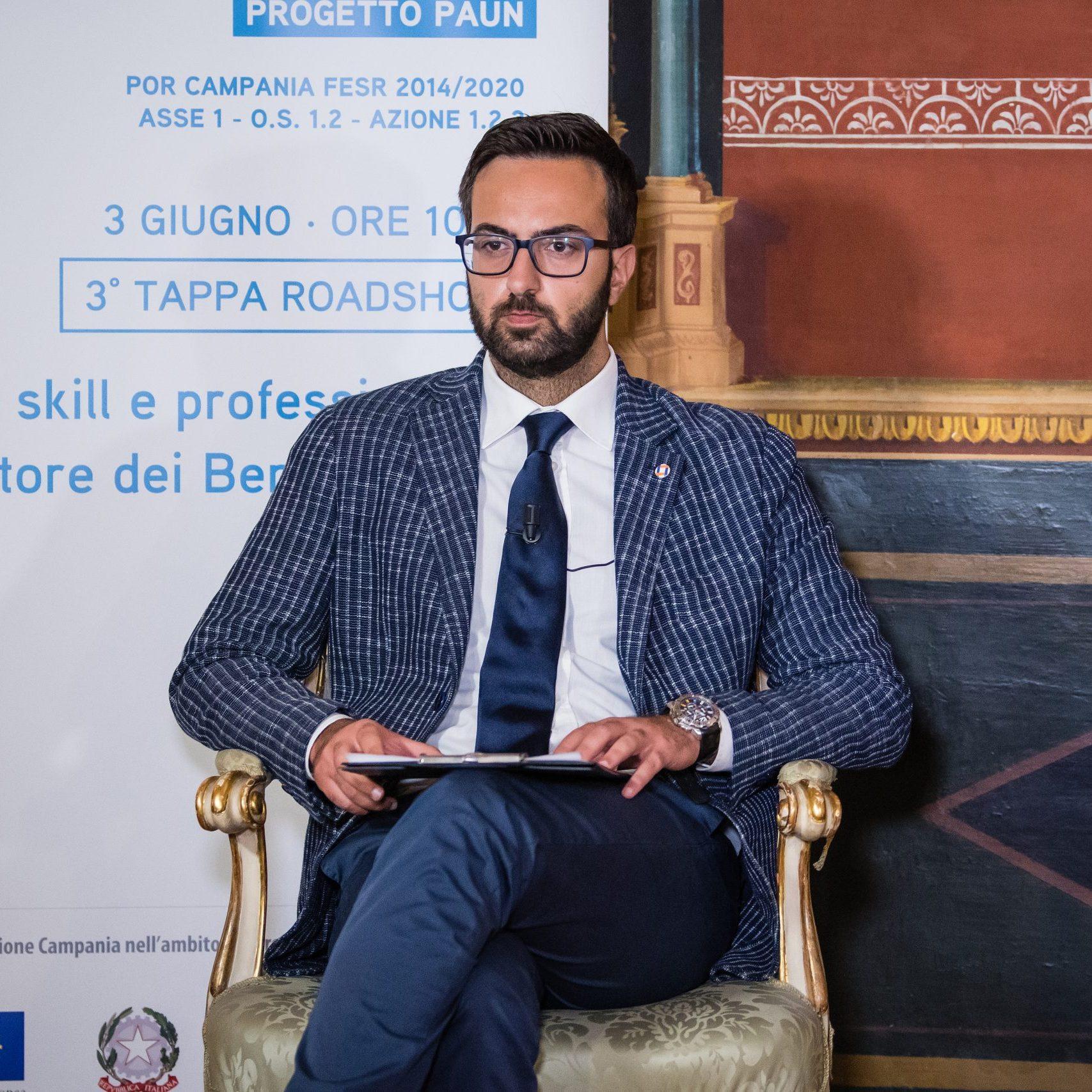 Giuseppe Alviggi modera la terza tappa del progetto PAUN