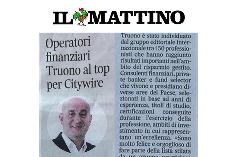 """You are currently viewing Alfonso Truono selezionato tra i 50 """"Movers and Shakers"""" più influenti della consulenza finanziaria e del private banking in Italia"""