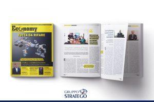 """Read more about the article Sulla rivista """"Economy"""" si parla di marketing sanitario con Antonio Vitolo, CEO di Gruppo Stratego"""