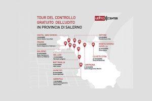 """Read more about the article Ritorna il """"TOUR del CONTROLLO GRATUITO dell'UDITO"""" promosso da Udito Center"""