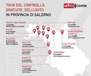 Read more about the article Ritorna il Tour del controllo gratuito dell'udito organizzato da Udito Center