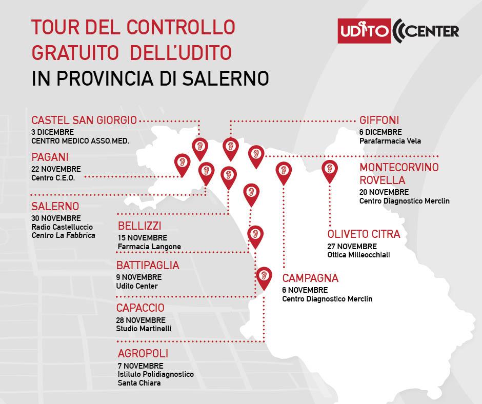 You are currently viewing Ritorna il Tour del controllo gratuito dell'udito organizzato da Udito Center