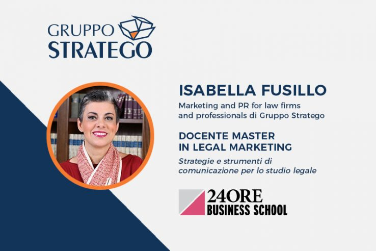 Isabella Fusillo esperta di legal marketing