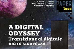 Read more about the article Online il quarto numero di Paperless, il primo magazine sulla digitalizzazione a norma dei processi