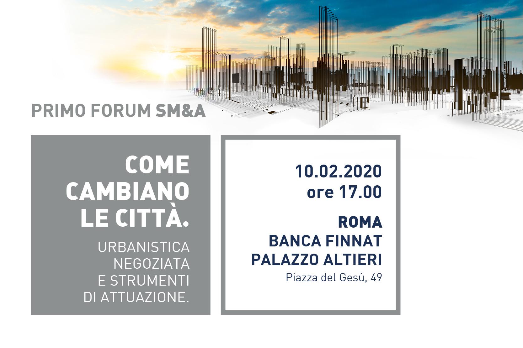 You are currently viewing Gruppo Stratego partner del Primo Forum SM&A presso la sede romana di Banca Finnat