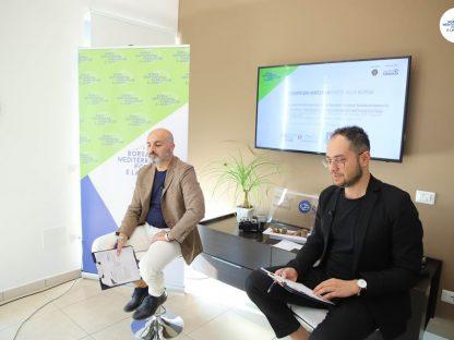 Antonio Del Vecchio e Antonio Vitolo Borsa Mediterranea della Formazione e del Lavoro