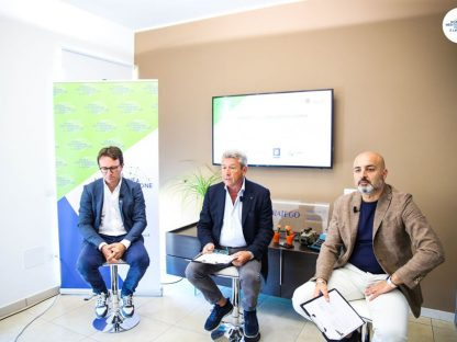 Peppe Alviggi e Antonio Del Vecchio Borsa Mediterranea della Formazione e del Lavoro