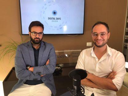 Giuseppe Alviggi e Antonio Del Vecchio al Digitale Days