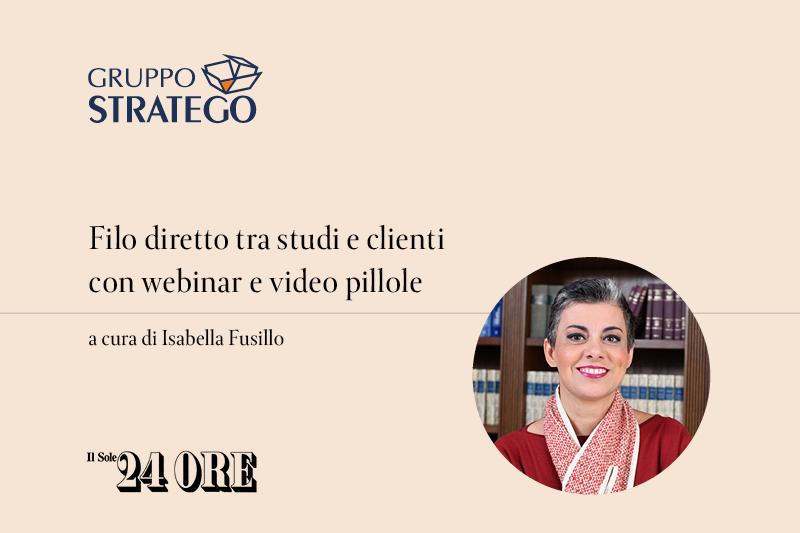 Isabella fusillo marketing e comunicazione legale
