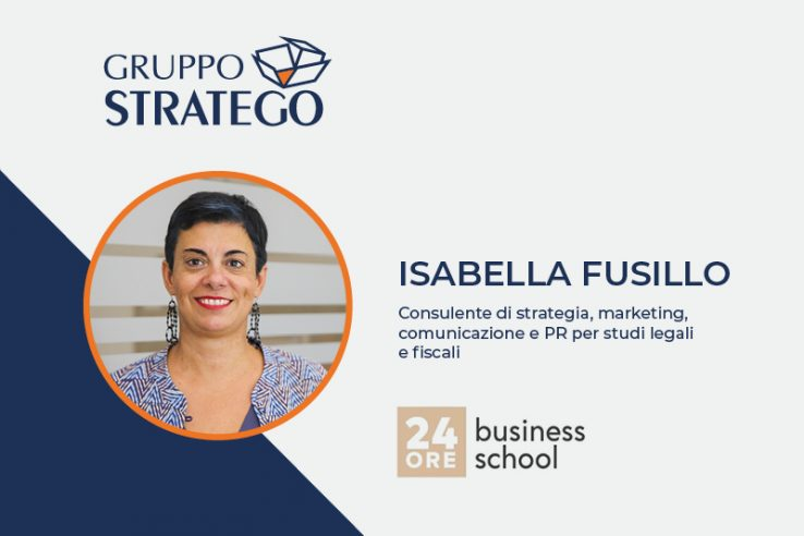 Isabella Fusillo docente del master Legal Marketing