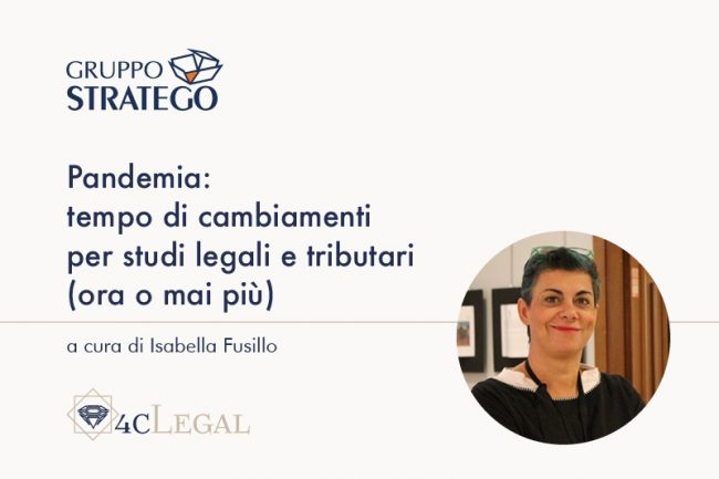 Isabella Fusillo 4cLegal pandemia