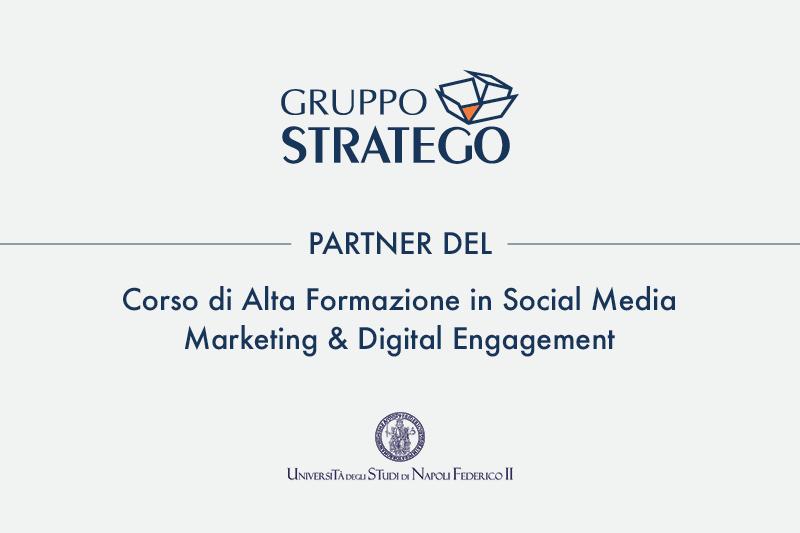 Read more about the article Gruppo Stratego partner dell'Università degli Studi di Napoli Federico II per il corso in Social Media Marketing & Digital Engagement