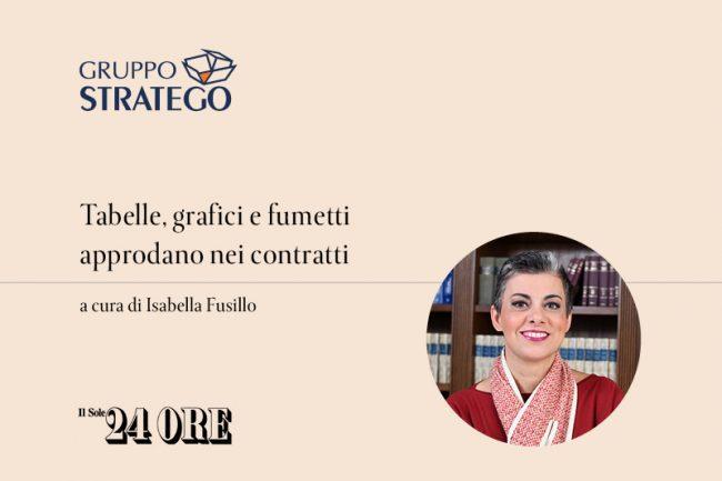 Isabella Fusillo Il Sole 24 Ore