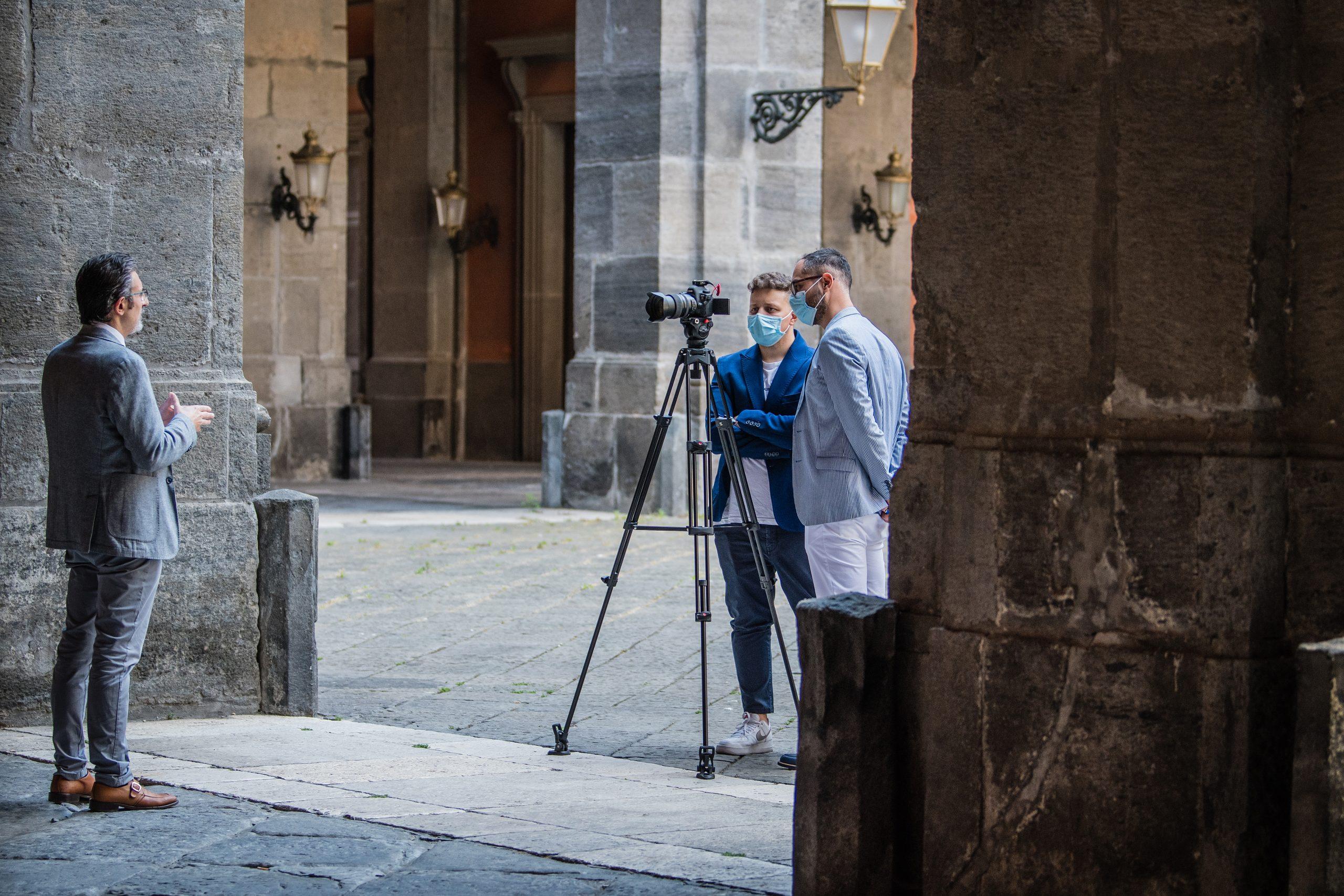 Antonio Del Vecchio e Domenico Bilotti alla terza tappa del progetto PAUN