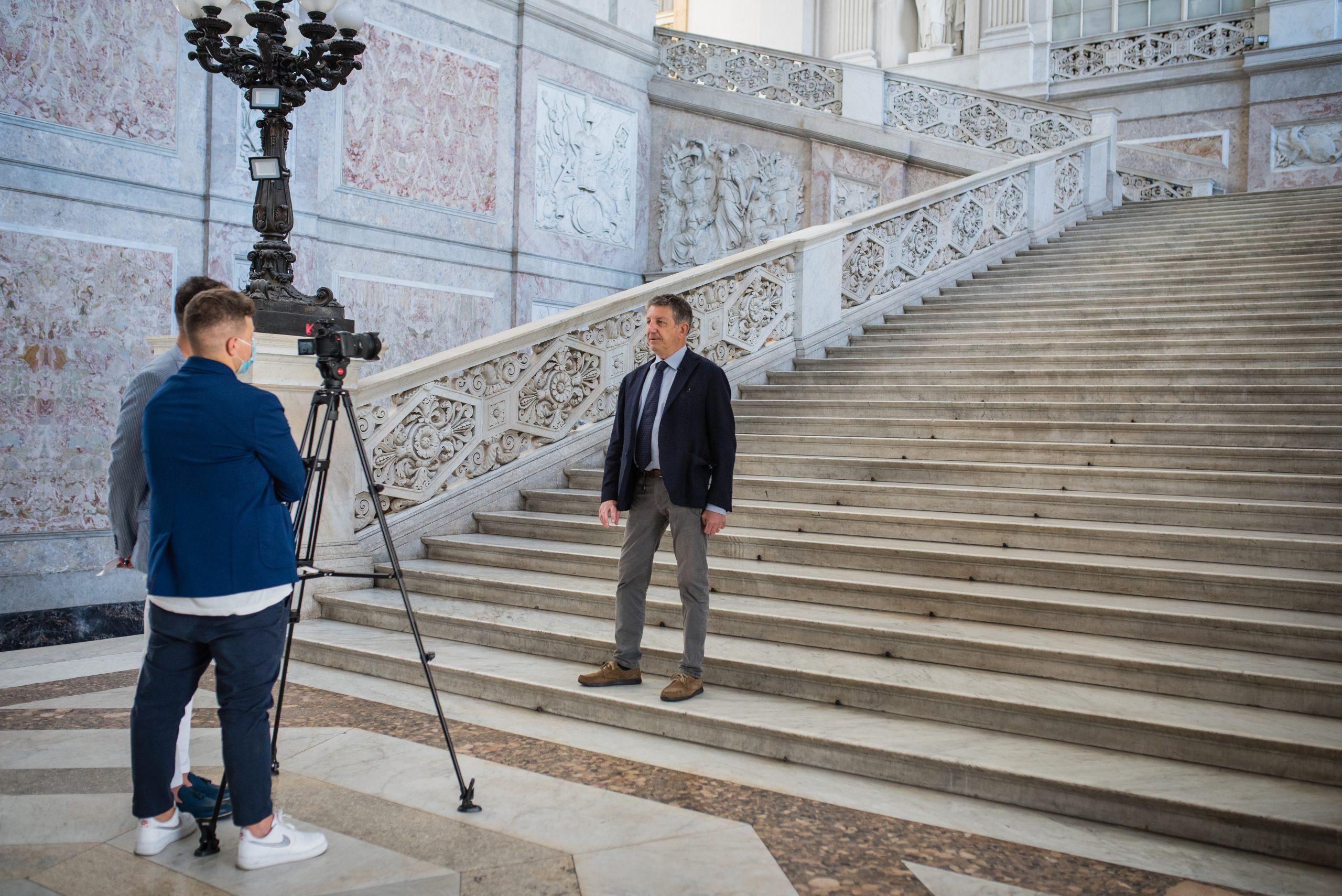 Il team di Gruppo Stratego intervista Enzo Sommella Amministratore Unico di Es Progetti e Sistemi alla terza tappa del progetto PAUN